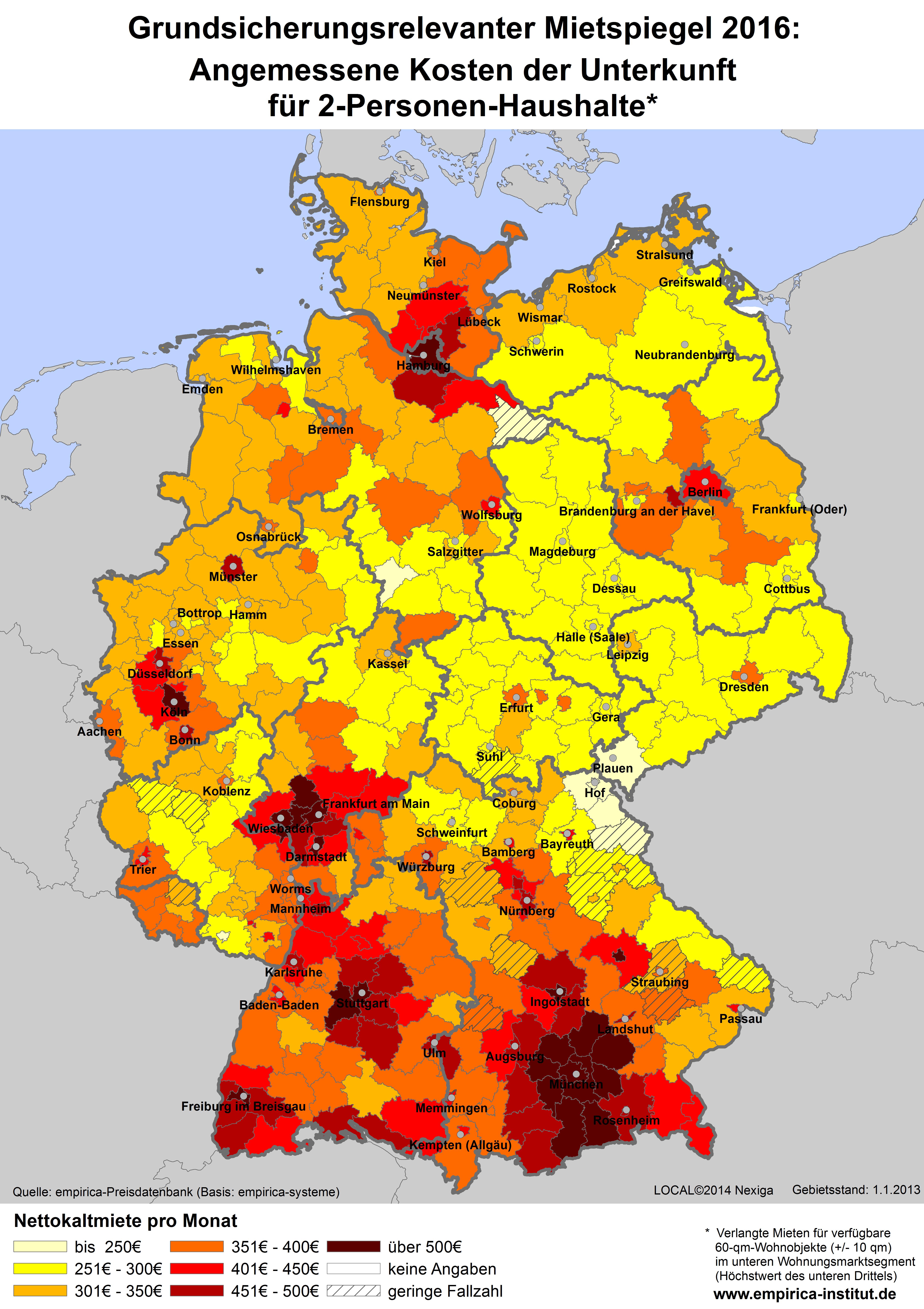 mietspiegel deutschland karte Mietspiegel Deutschland Karte | jooptimmer mietspiegel deutschland karte